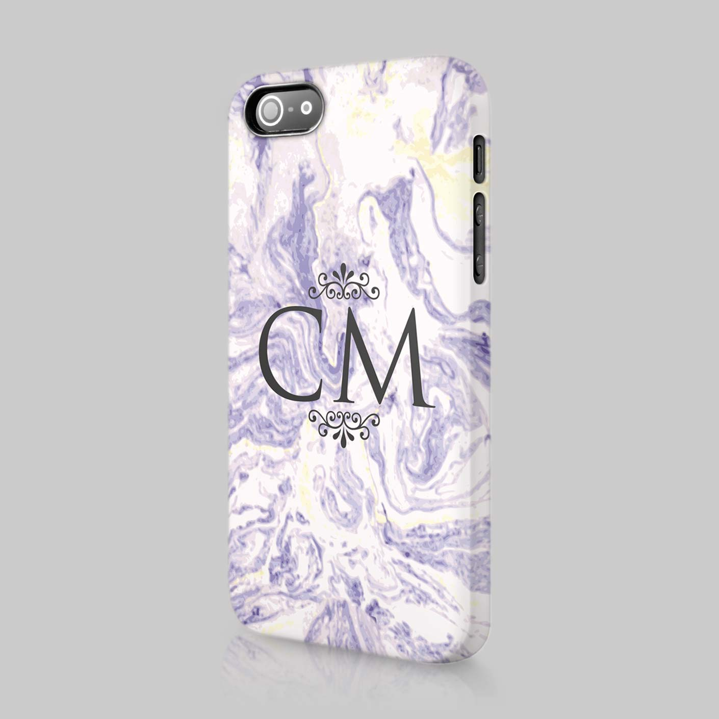 Personalised-Colourful-Marble-Initial-Custom-Case-Cover-For-LG-Amazon ...