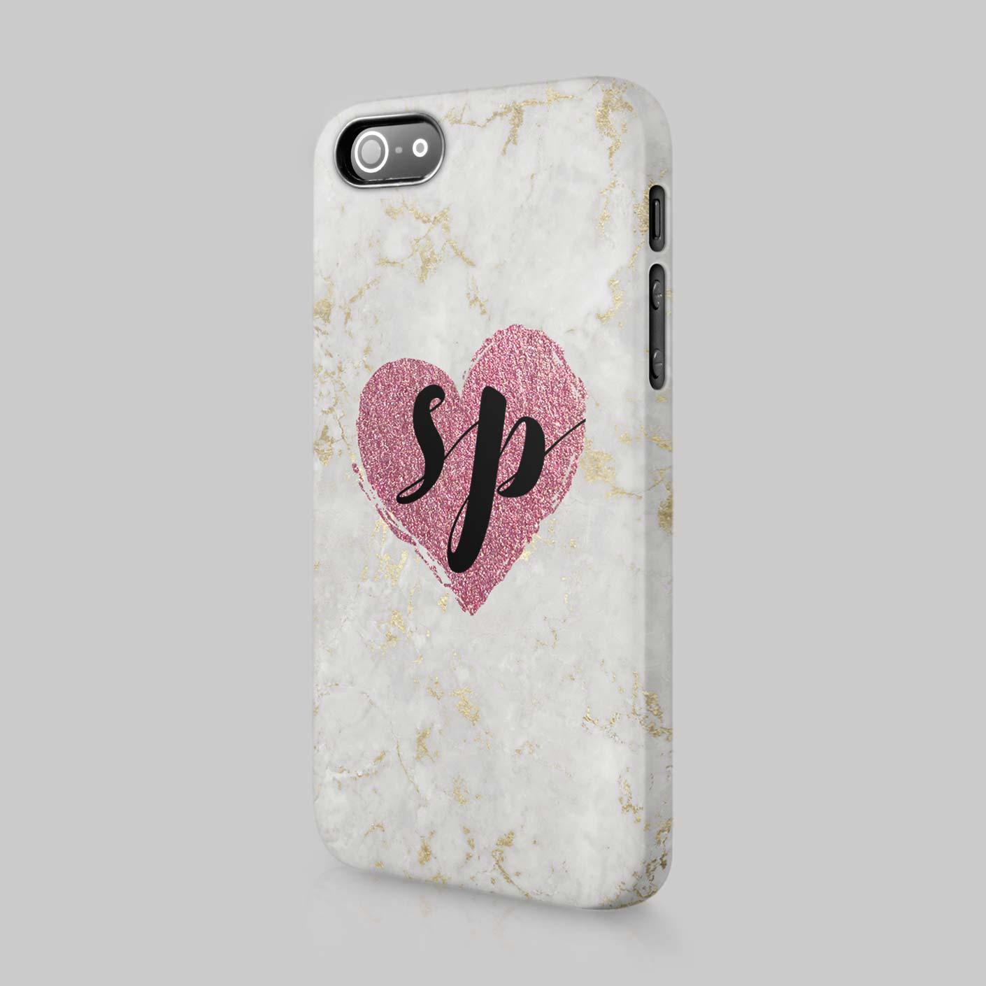 Personalised Iphone  Case Initials
