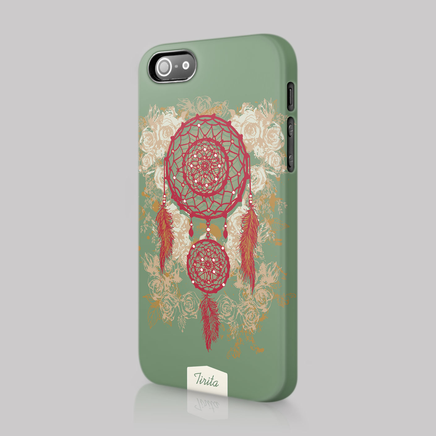Gypsy Bohemian Boho Chic Feathers Case Hard Cover For LG Amazon Blackberry