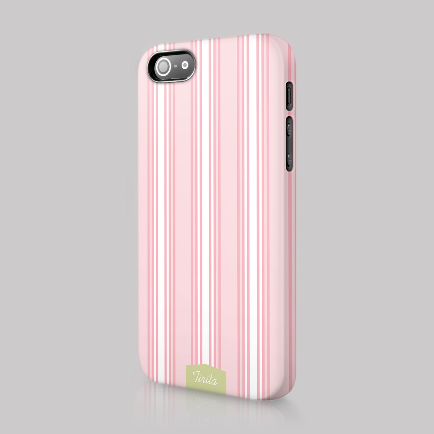 Tirita lines shabby chic striped case hard cover for for Case arredate shabby chic