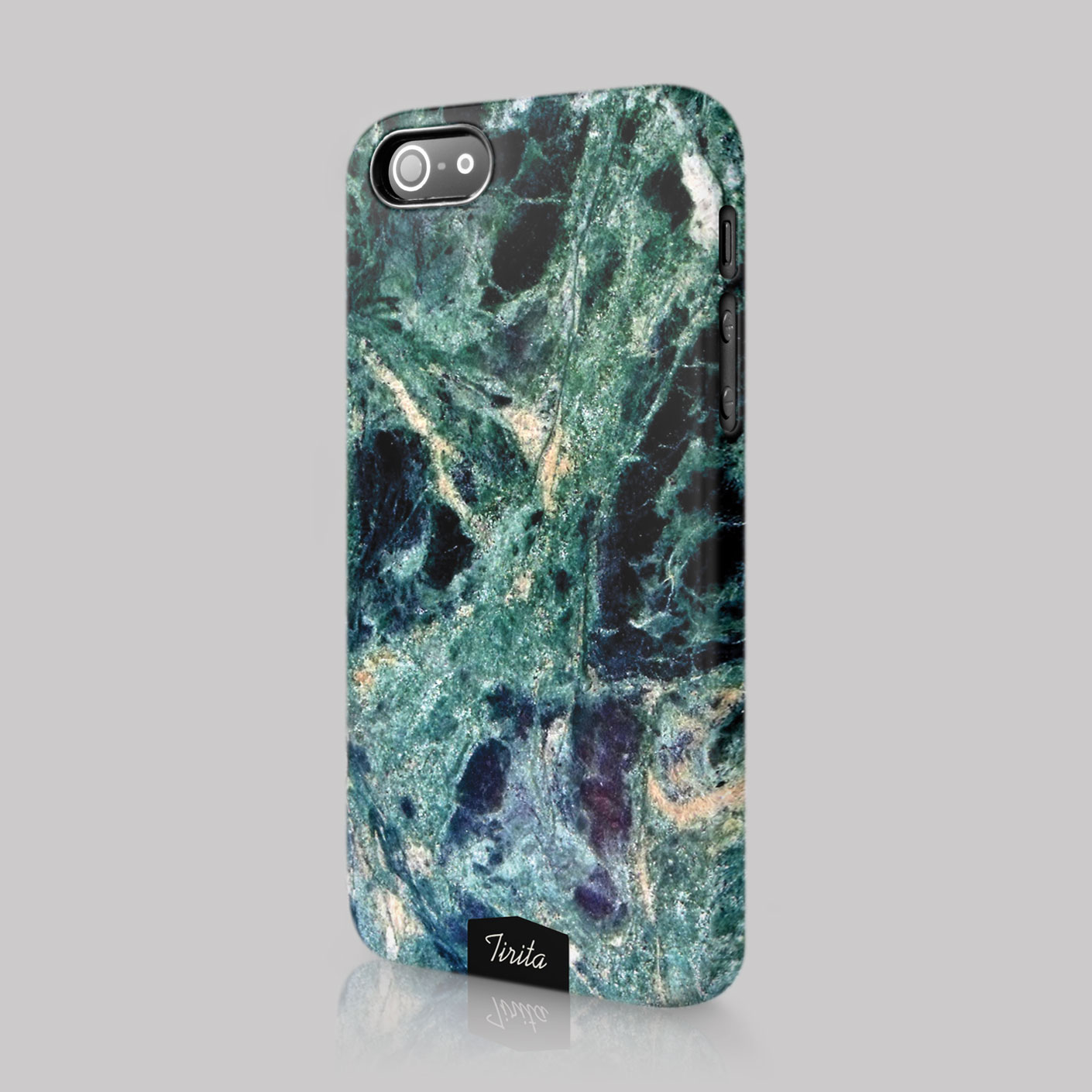 Tirita Marble Effect Look Alike Rock Case Hard Cover For LG Amazon Blackberry