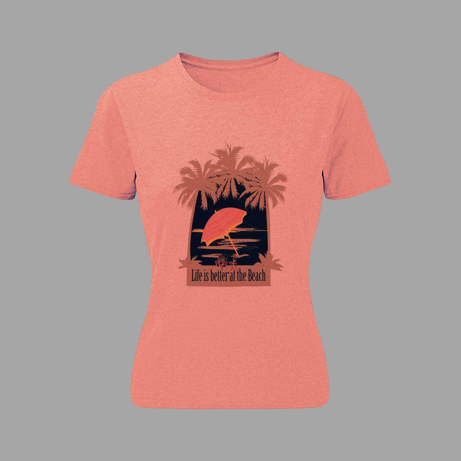 Heart design t shirt - Tirita Seaside Sailor Anchor Beach Love Heart Design