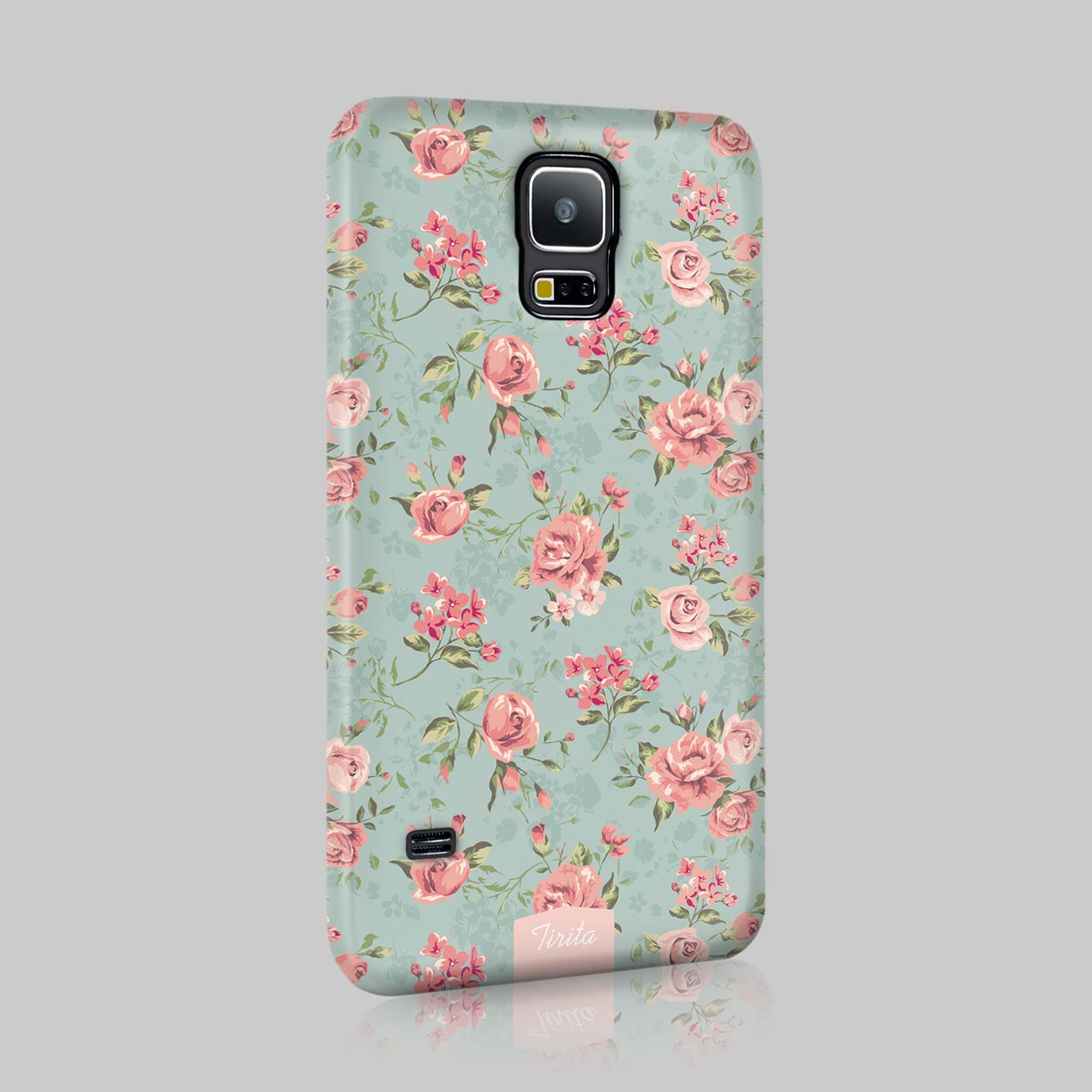 Tirita shabby chic floral retro phone case hard cover for for Case shabby chic country