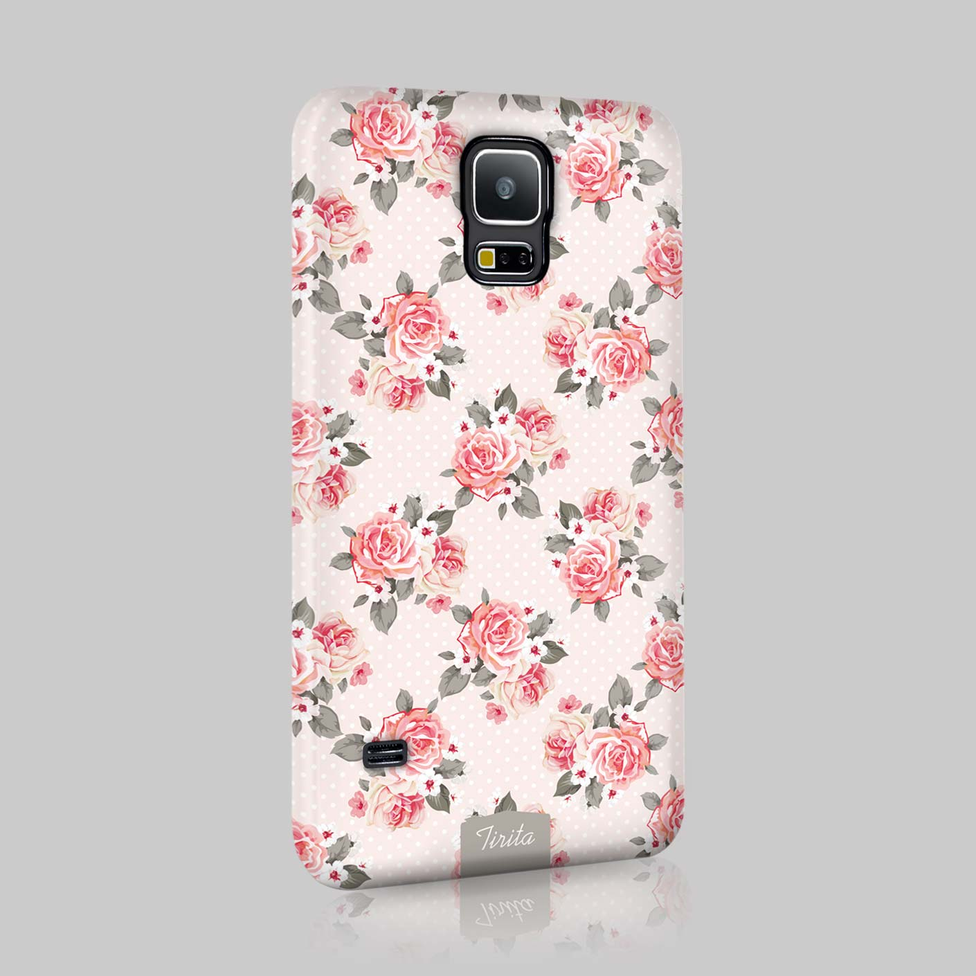 Tirita shabby chic floral retro phone case hard cover for for Case arredate shabby chic