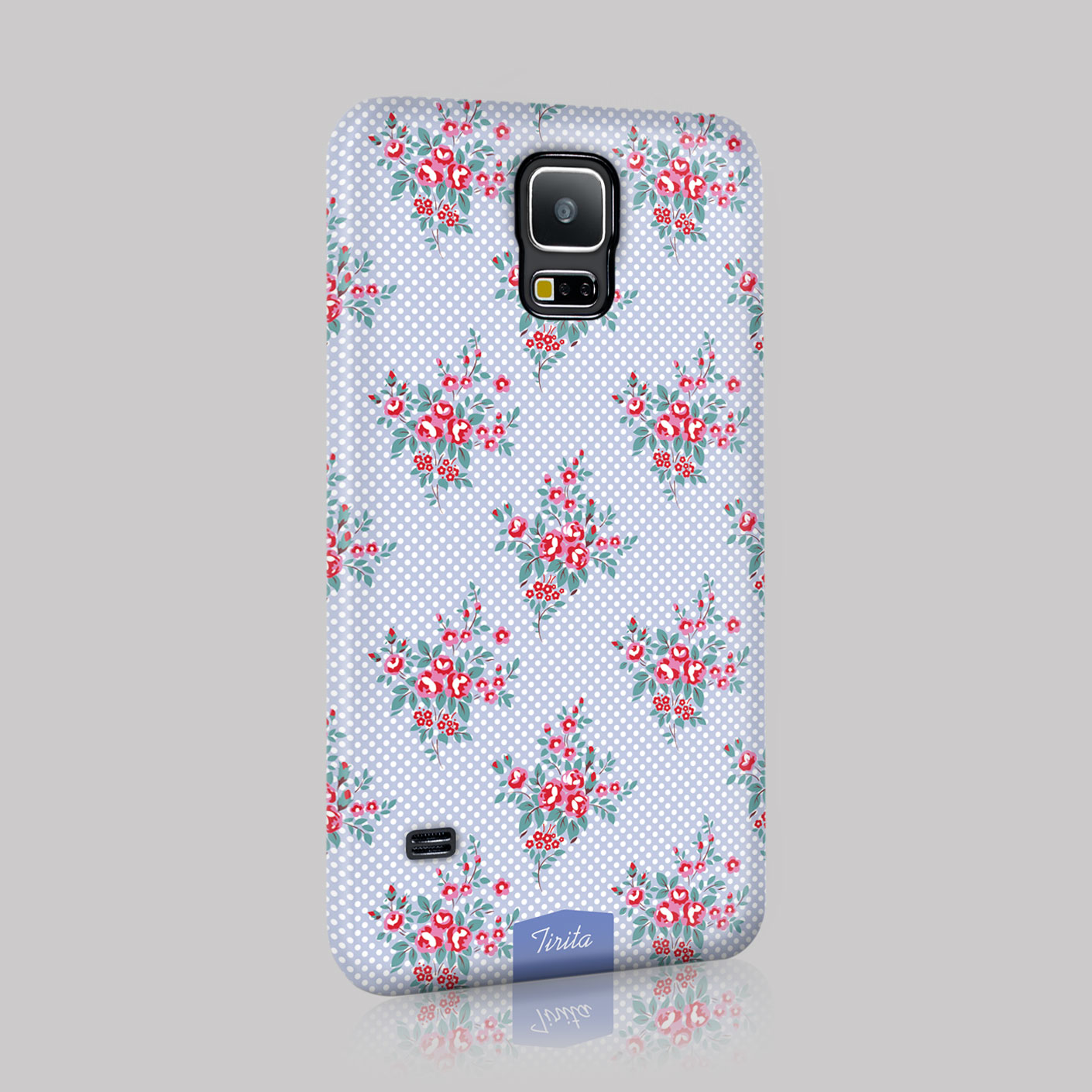Tirita shabby chic vintage cute floral case hard cover for for Case shabby chic country