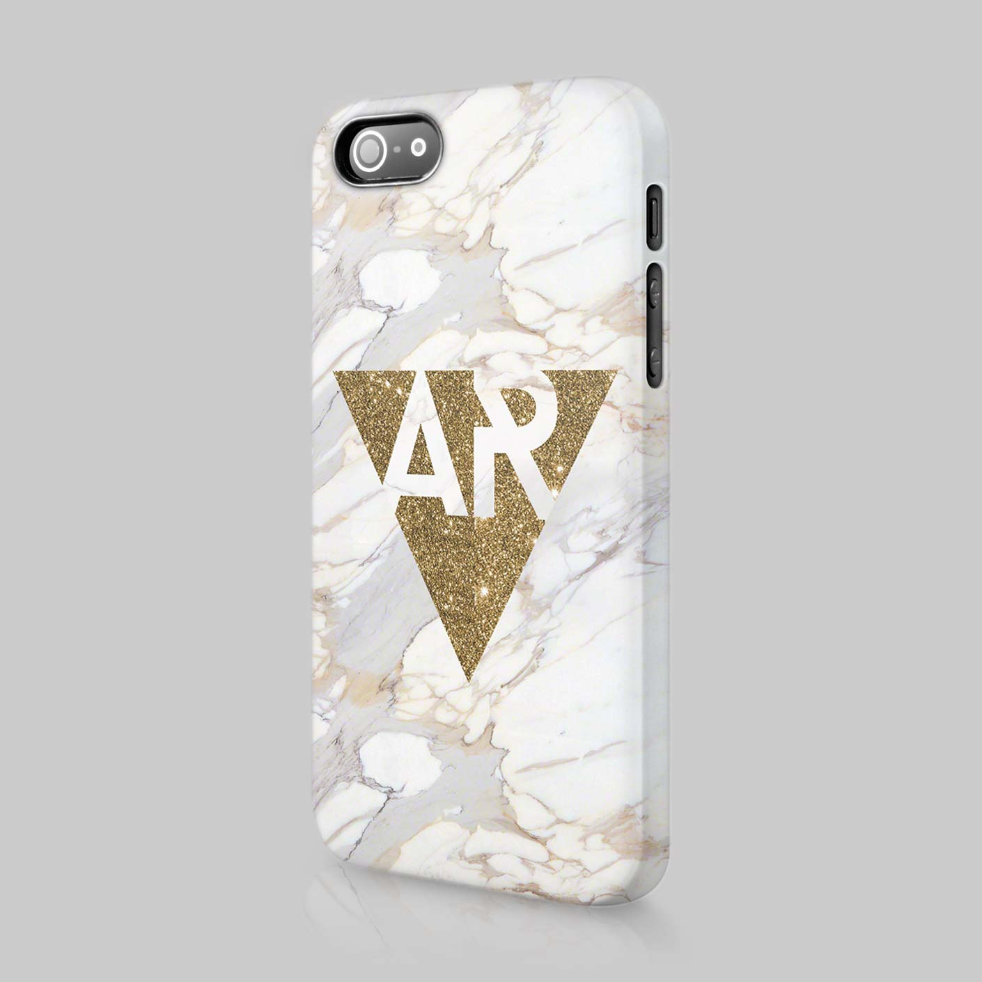Personalised-Golden-Marble-Printed-Glitter-Initials-Custom-Phone-Case-For-Iphone