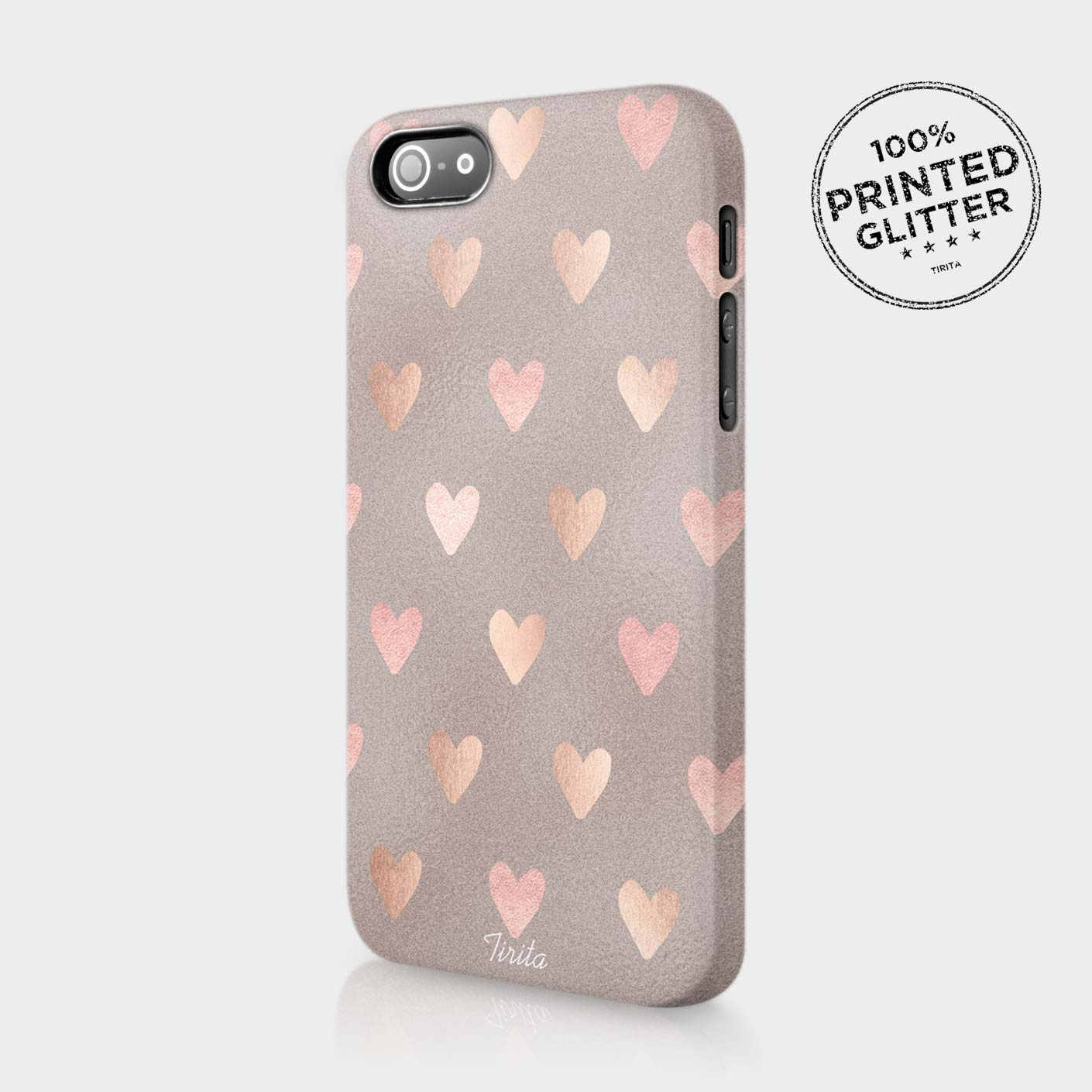 cute iphone 5 cases tirita marble glitter hearts gold phone 13930
