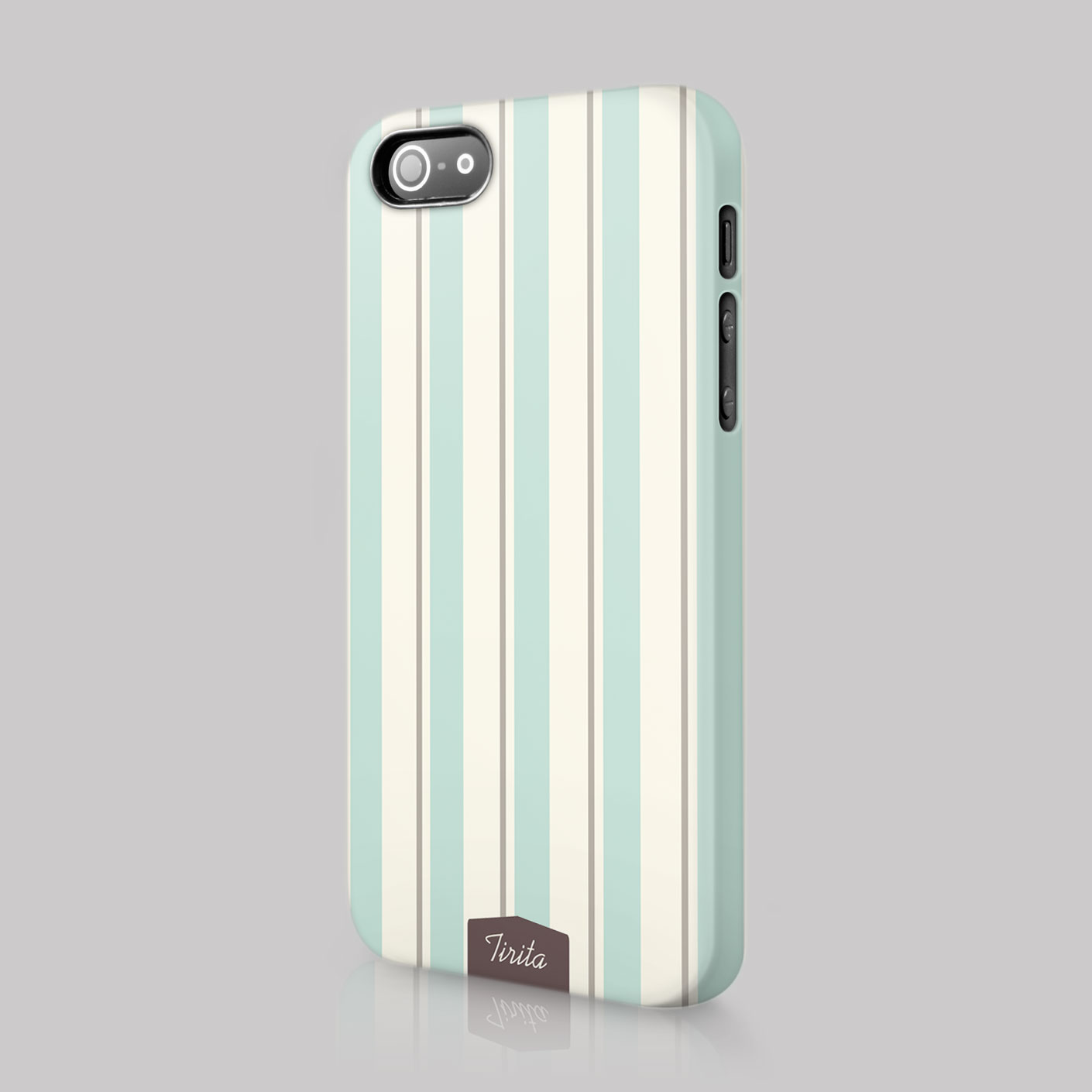 Tirita-Lines-Shabby-Chic-Striped-Case-Hard-Cover-For-iPhone-4-5-6-7-amp-SE