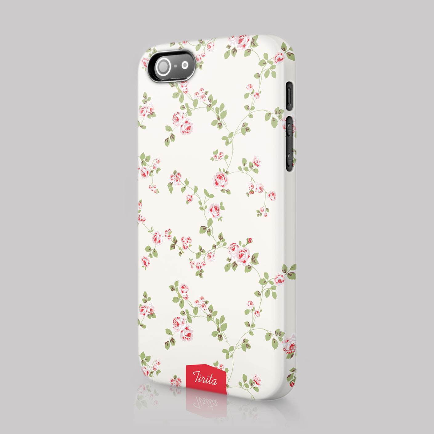cute iphone 4 cases tirita shabby chic vintage floral cover for 13928